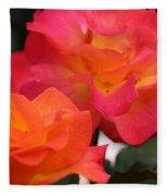 Rose Glow Fleece Blanket
