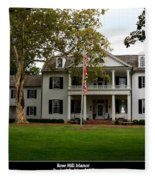 Rose Hill Manor Fleece Blanket