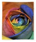 Rose Of Equality Fleece Blanket