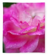 Rose Pink Fleece Blanket