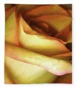 Rose Scan Softened Fleece Blanket