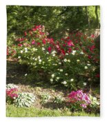 Rose Splender Fleece Blanket
