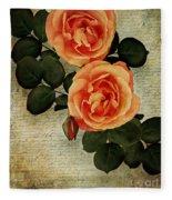 Rose Tinted Memories Fleece Blanket