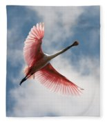 Roseate Soaring Fleece Blanket
