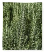 Rosemary Forest Fleece Blanket