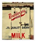 Rosenberger's - Dairy Milk  Fleece Blanket