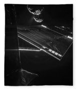Rosettas Philae Lander At Comet 67pc-g Fleece Blanket