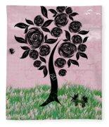Rosey Posey Fleece Blanket