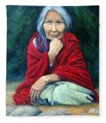 Rosie Remembered Fleece Blanket