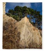 Ross Creek Cliffs Fleece Blanket