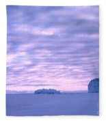 Ross-iceshelf-g.punt-2 Fleece Blanket