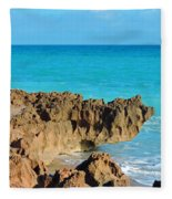 Ross Witham Beach 1 Fleece Blanket