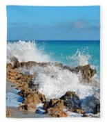 Ross Witham Beach 3 Fleece Blanket