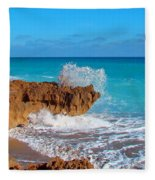 Ross Witham Beach 5 Fleece Blanket