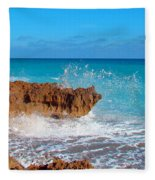 Ross Witham Beach 6 Fleece Blanket