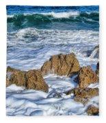 Ross Witham Beach Stuart Florida Fleece Blanket