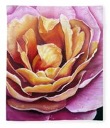 Rosy Dew Fleece Blanket