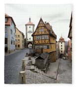 Rothenberg, Germany Fleece Blanket