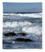 Rough Seas Fleece Blanket