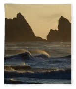 Rough Surf Fleece Blanket