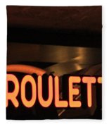 Roulette Fleece Blanket