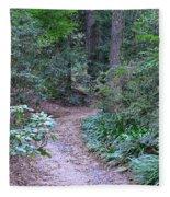 Round The Bend Fleece Blanket