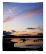 Roundstone Harbour Fleece Blanket