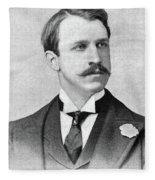 Rounsevelle Wildman (1864-1901) Fleece Blanket