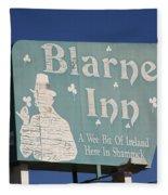 Route 66 - Blarney Inn Fleece Blanket