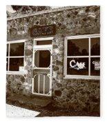 Route 66 Cafe 8 Fleece Blanket