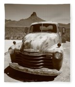 Route 66 - Classic Chevy Fleece Blanket