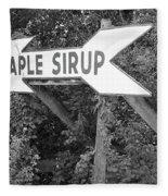 Route 66 - Funk's Grove Sirup Fleece Blanket