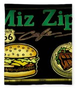 Route 66 Miz Zips Fleece Blanket