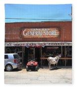 Route 66 - Oatman General Store Fleece Blanket