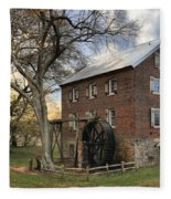 Rowan County Grist Mill Fleece Blanket