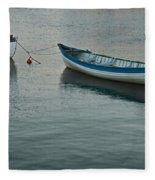 Rowboats Fleece Blanket