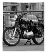 Royal Enfield Goes Berlin Fleece Blanket