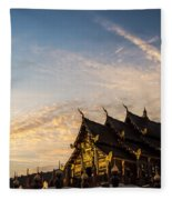 Royal Park Rajapruek On Sunset Fleece Blanket