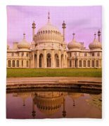 Royal Pavilion In Brighton England Fleece Blanket