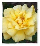 Royal Yellow Delight Rose... Fleece Blanket