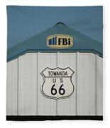 Rt 66 Towanda Plague Fleece Blanket