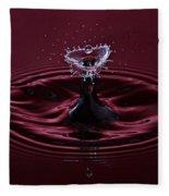 Rubies And Diamonds Fleece Blanket