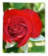 Ruby Rose Diamond Dust Fleece Blanket