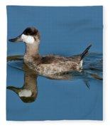 Ruddy Duck Drake Fleece Blanket