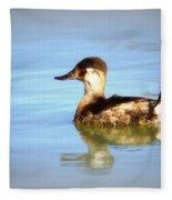Ruddy Duck Fleece Blanket