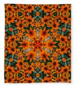 Rudi 2 Kaleidoscope Fleece Blanket