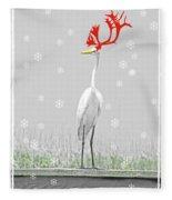 Rudolph Fleece Blanket