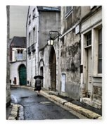 Rue A Chartres Fleece Blanket
