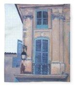 Rue Espariat Aix-en-provence Fleece Blanket