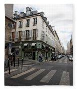 Rue Jacob Paris Fleece Blanket